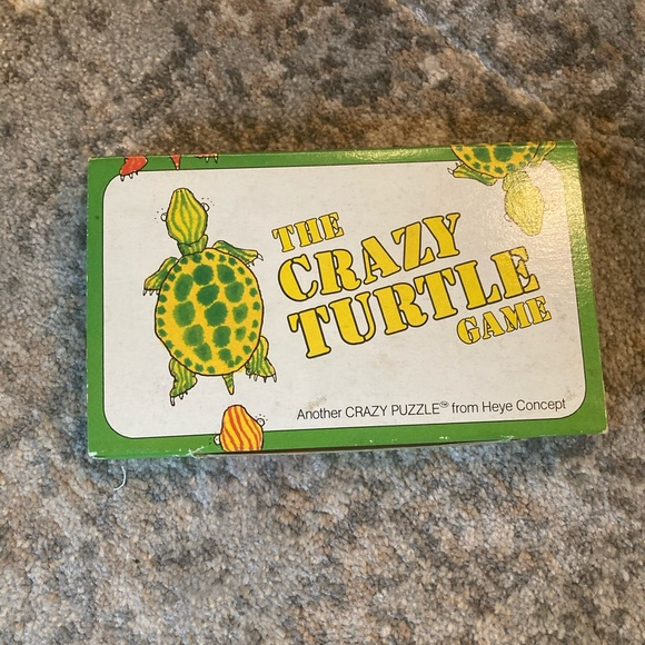THE CRAZY TURTLE GAME - for ages 4-99 - such FUN